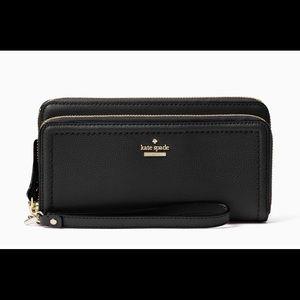 Kate Spade Black Wristlet - Patterson Wallet
